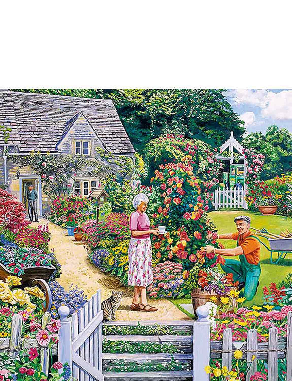 Gardeners Round - Gibsons Boxed Set Jigsaw