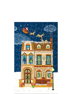 Christmas Street Advent Calendar From Gibsons