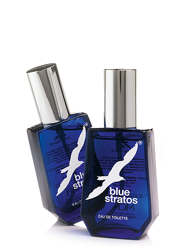 Blue Stratos Aftershave