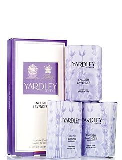 Yardley Soap Gift Set Lavender
