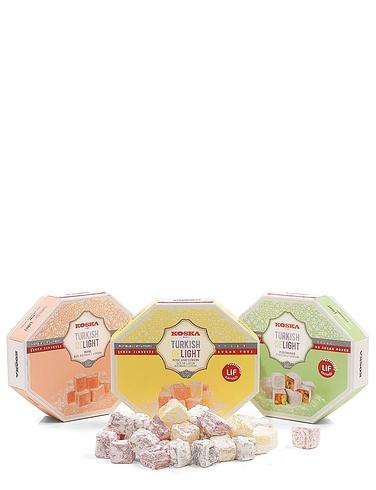 Koska Sugar Free Turkish Delight With Pistachios