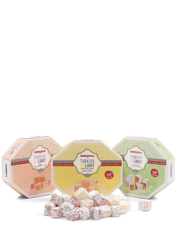 Sugar Free Turkish Delight - Pictachio