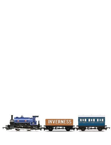 Hornby Highland Rambler Train Set