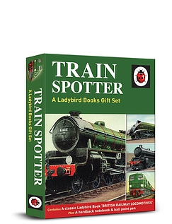 TRAINSPOTTER ENTHUSIASTS GIFT SETS