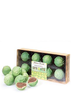 Chocolate Sprout Truffles 100g