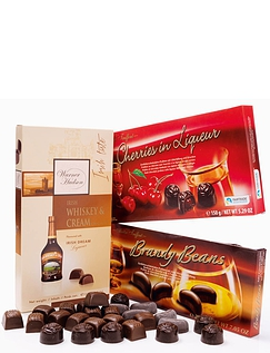 Luxury Brandy Continental Chocolate Selection