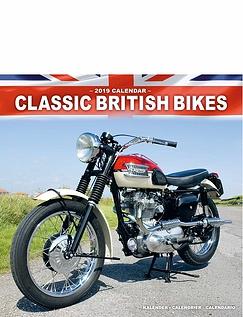 Classic British Bikes Calendar