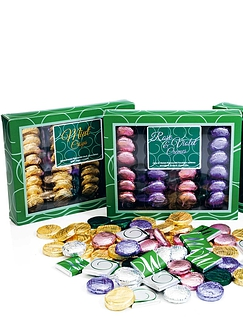 Rose & Violet Chocolate Cremes 200g