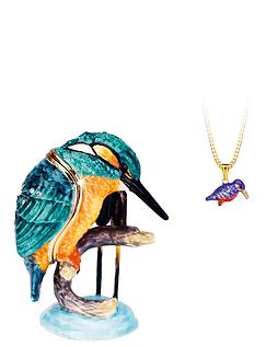 Kingfisher Hidden Treasures Trinket Box