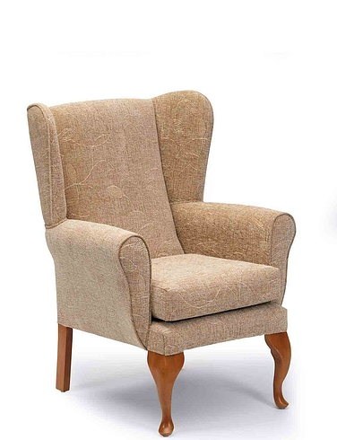 Queen Anne Fireside Chair