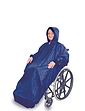 Fleece Lined Wheelchair Mac with Sleeves