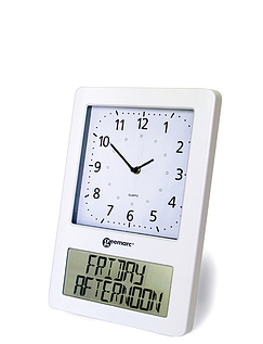 Radio Controlled Analogue and Digital Clock