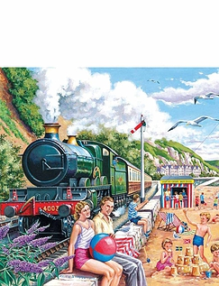Seaside Special Extra Large Jigsaw