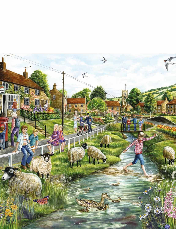 Village Life - Jigsaw