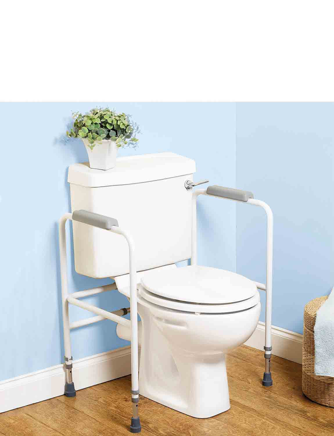 Toilet Support - White