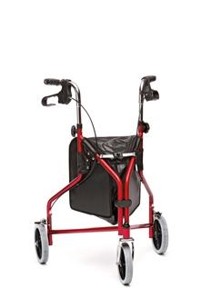 Indoor/Outdoor Steel Tri Wheel Walker