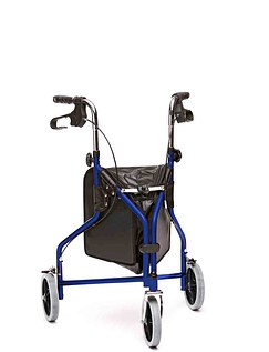 Indoor and Outdoor Steel Tri Wheel Walker