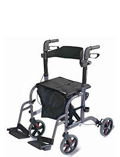 Two in One Rollator and Walker