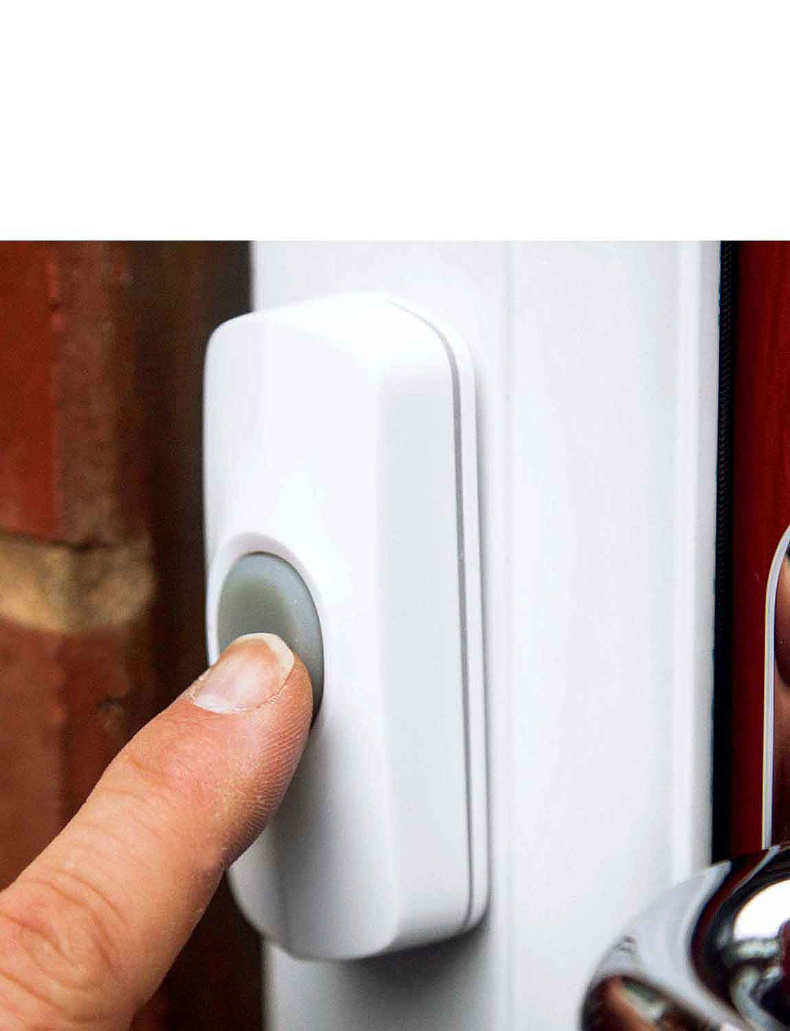 Wireless Door Chime - White