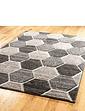 3D Honeycomb Rug
