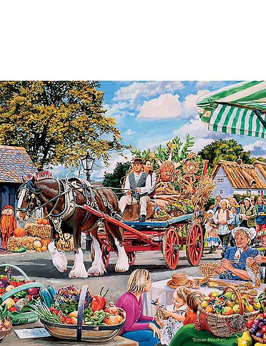 Village Celebrations - Gibsons Boxed Set Jigsaw