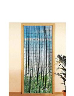 Bamboo Door Curtain