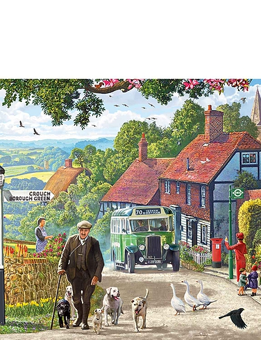A Morning Stroll 636pc Jigsaw Puzzle