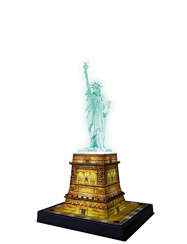 Statue Of Liberty Snap-Fit 3D Puzzle