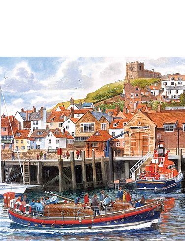 Harbour Holidays - Gibsons Box set Jigsaw