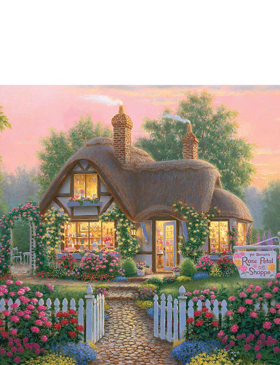 Rose Petal Gift Shop - Jigsaw