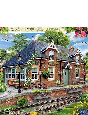 Railway Cottage 1000 Piece Jigsaw