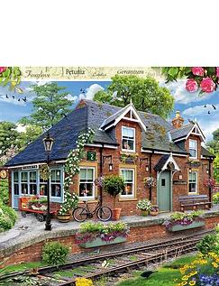 Railway Cottage 1000 Piece Jigsaw
