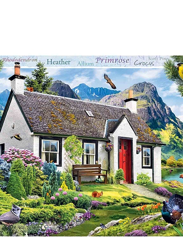 Lochside Cotttage - Jigsaw