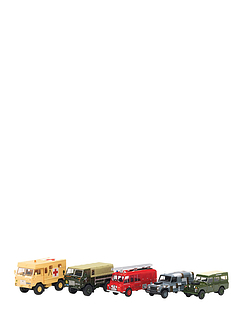 Set of 10 Historic Military Land Rovers