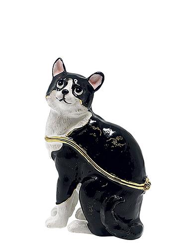 Cat Treasured Trinket Box