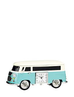 Miniature Camper Van Clock
