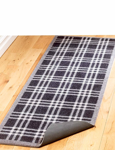 Noise Reducing Tartan Utility Mat