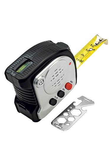 6-In-1 Recording Tape Measure