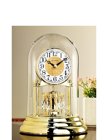 Rhythm Anniversary Mantle Clock