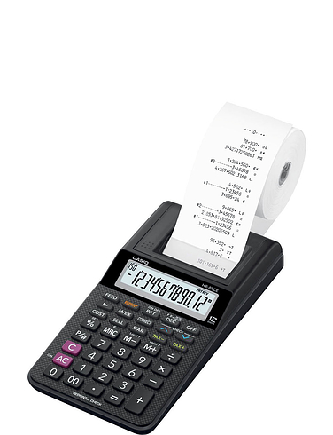 Casio Printer Calculator