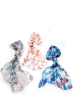 Set of 3 Silk Scarves