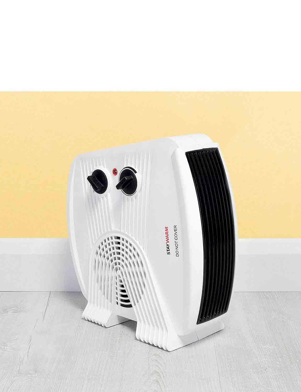 Super Powerful Fan Heater  - White