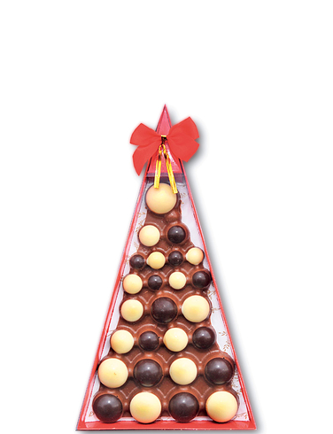 Chocolate Bauble Tree