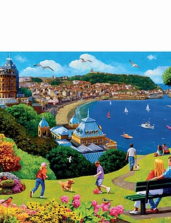 Happy Days 4 x 500pc Jigsaw Puzzles