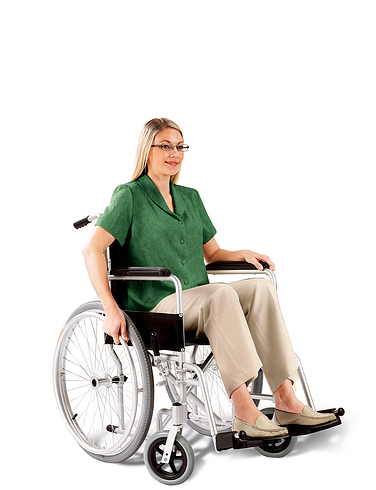Self Propelled Lightweight Aluminium Wheelchair