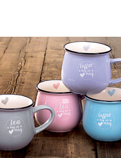 Set Of 4 Hug In A Mug