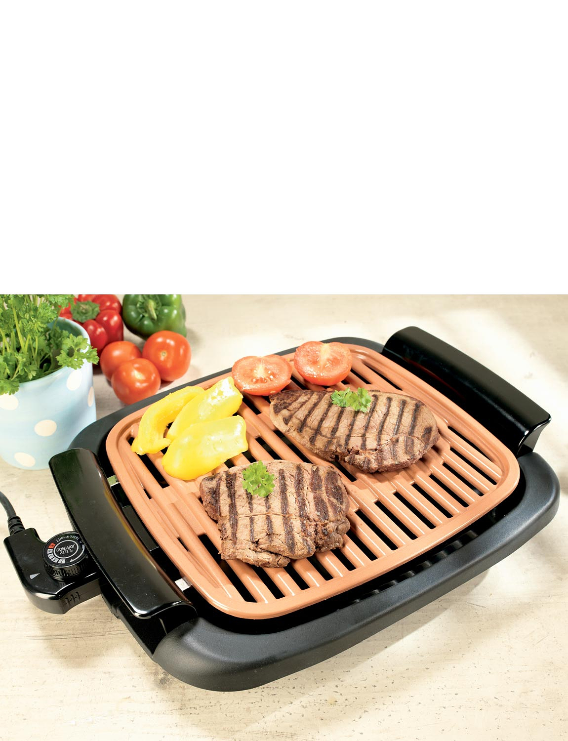 Copper Chef Smokeless Indoor Grill - MULTI