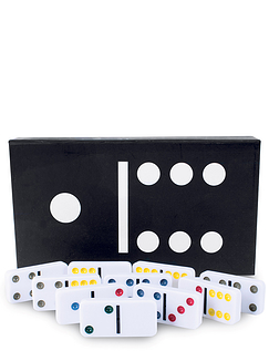 Double Six Domino Set