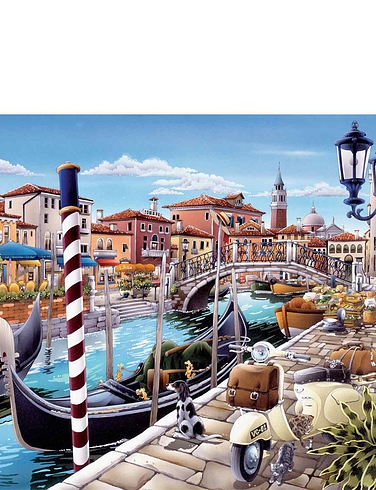 City Collection Box Set Jigsaw Puzzles