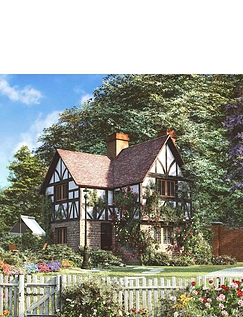 Cottage Collection Box Set Jigsaw Puzzles